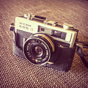 old analog camera, Ricoh 500G - WV000458
