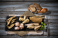 Variety of pickled and marinated fish - MAEF007940
