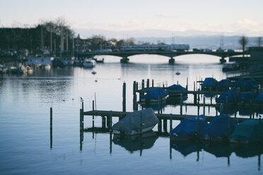 Switzerland, Zurich, view to Limmet river - ELF000898