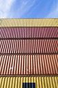 Germany, Baden-Wuerttemberg, Stuttgart, harbour, container - WDF002312