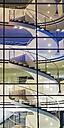 Germany, Baden-Wuerttemberg, Stuttgart, office building, staircase - WDF002307
