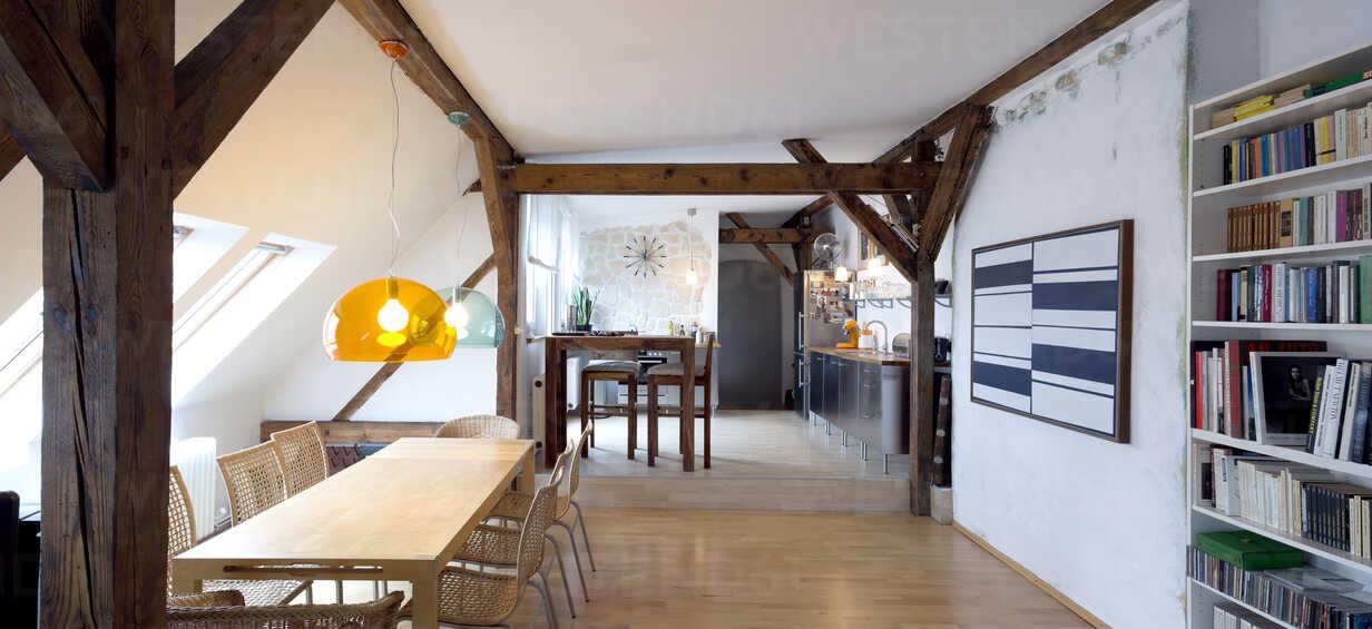 Open plan living room and kitchen - TK000307 - TeKa/Westend61