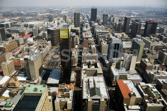 South Africa, Johannesburg, Overview of downtown - TKF000304 - TeKa/Westend61
