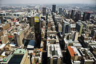 South Africa, Johannesburg, Overview of downtown - TKF000304