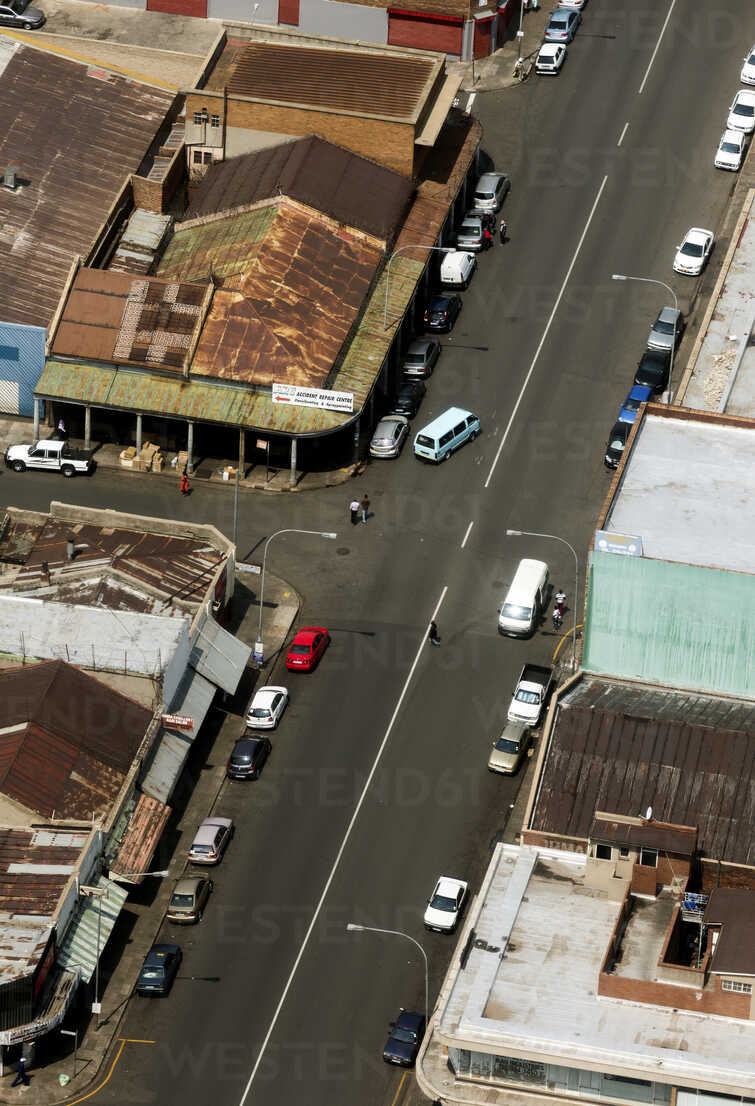 South Africa, Johannesburg, Overview of industrial area with street - TKF000286 - TeKa/Westend61