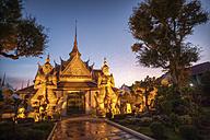 Thailand, Bangkok, Wat Arun in the evening - ZC000028