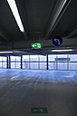 Germany, North Rhine-Westphalia, Duesseldorf, empty parking garage of Vodafone-Campus - VI000238