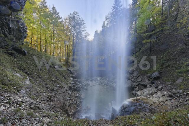 Germany, Chiemgau, Schossrinn waterfalls - SIEF005113