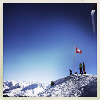White Horn summit, Arosa, Grisons, Switzerland - DR000535