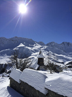 Bergkirchli, mountain church, Arosa, Grisons, Switzerland - DRF000538