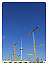 TV tower and cranes, city center, Germany, Berlin - BFR000367