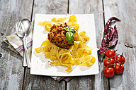Pappardelle classico, Sauce Bolognese - MAEF008107