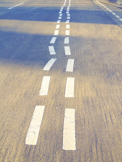 Weird lane markings, Berlin, Germany - FBF000254