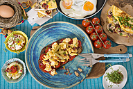 Variation of egg dishes - CSTF000152