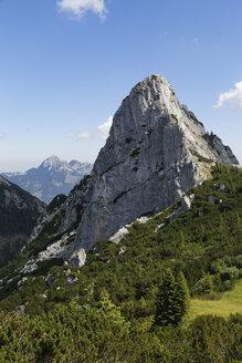 Germany, Bavaria, Mangfall Mountains, Ruchenkoepfe near Bayrischzell - SIEF005159