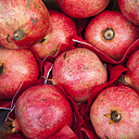 Pomegranates, close-up - WIF000486