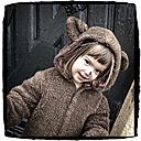 Carnival, girl in a bear costume - LVF000890