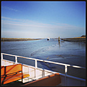 On the ferry from Harlesiel to Langeoog, Lower Saxony, Germany - EVGF000412