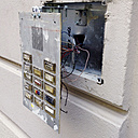 Damaged bell system, Munich, Bavaria, Germany - GS000829
