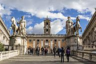 Italy, Rome, Capitol with Piazza del Campidoglio - EJW000344