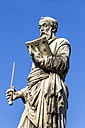 Italy, Rome, Statue on Ponte Sant'Angelo - EJWF000356