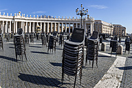 Italy, Rome, St. Peter's Basilica, Preparation for an audience of the Pope - EJW000366