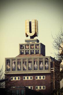 Germany, North Rhine-Westphalia, Dortmund, view to Dortmund U-Tower formerly brewery building - HOH000589
