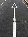 Road marking in Bilbao, Spain - FLF000403