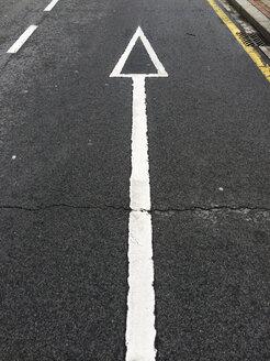 Road marking in Bilbao, Spain - FLF000403