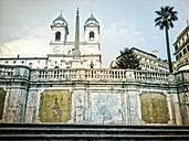 Spanish Steps, Piazza di Spagna, Scalinata di Trinita dei Monti, Rom, Italy - RIMF000170