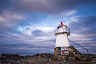lighthouse in Laukvik, Austvagoy, Lofoten, Norway - STSF000354