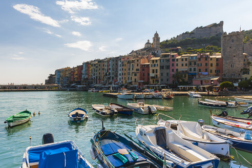 Italy, Liguria, La Spezia, Portovenere, harbour - AMF001961