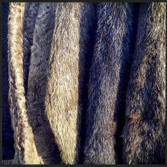 Various old fur coats - WDF002397
