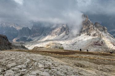 Italy, Veneto, Dolomites, Lagazuoi summit - RJF000041
