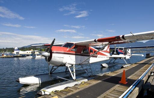 Canada, Vancouver, Water plane near Coral Harbour - AM002014