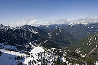 Canada, British Columbia, Rocky Mountains at Mt Seymour Provincial Park - AMF002002