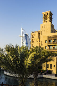 United Arab Emirates, Dubai, Hotel Burj al Arab and Madinat Jumeirah - THAF000182