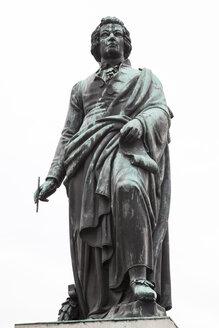 Austria, Salzburg, Statue of Mozart, Mozart monument - WIF000520