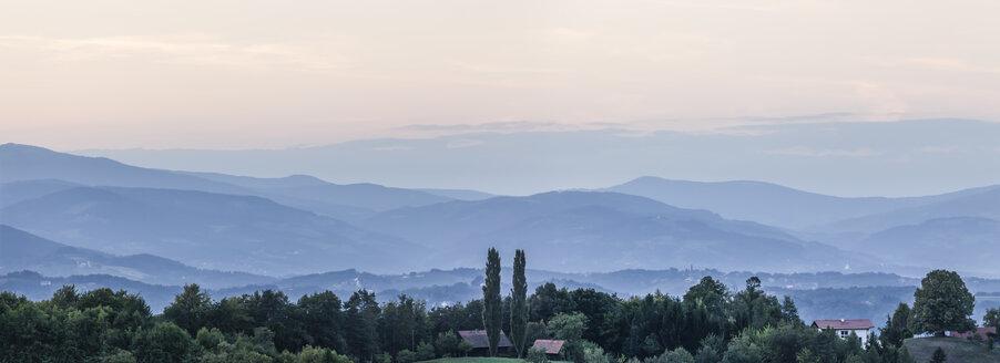 Austria, Southern Styria, Landscape at evening - ATAF000025
