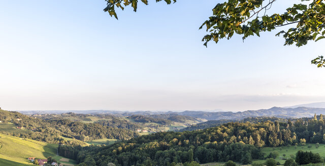View from Austrian border to Slovenian vineyards - ATAF000023