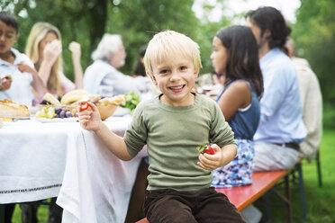 Boy on a garden party - ABF000585