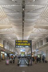 China, Guangzhou, Terminal at Guangzhou Airport - FB000295