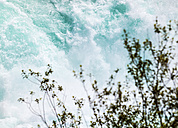 New Zealand, Taupo, white water at Huka Falls - WV000538