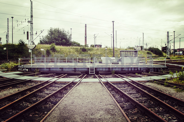 Germany, Berlin, train turnstile - FB000300