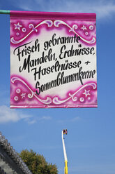 Commercial sign on a fair - GWF002693