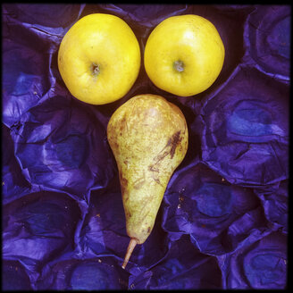 Apple and pear face - GSF000855