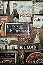 Old commercial signs of Coca Cola - EL000926