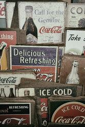Old commercial signs of Coca Cola - EL000926