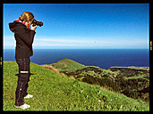 Photographer on Sao Miguel, Azores, Portugal - ONF000438