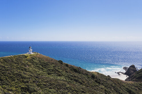 New Zealand, Northland, Cape Reinga, Lighthouse, Spirits Leap - GW002679
